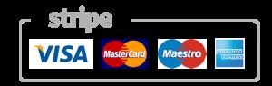 Flux Design Payment Methods Visa Mastercard Maestro